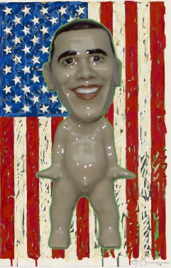 "RUSSELL BILES"" Obama (Wee Club)"";slipcast porcelain;h3""."