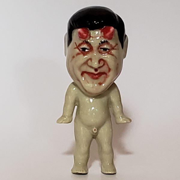 """RUSSELL BILES;""""Xi Jinping""""."""